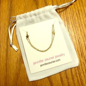 Jennifer Zeuner star double necklace